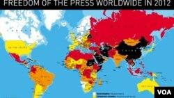 Dünyada mətbuat azadlığı indeksi
