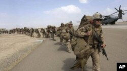 Pasukan AS di Afghanistan.