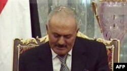 Tổng thống xuất nhiệm Ali Abdullah Saleh của Yemen