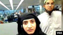 Tashfeen Malik and Syed Farook.