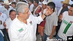 ທ່ານ Rodolfo Torres Cantú, ຜູ້ສະມັກເລືອກຕັ້ງເປັນຜູ້ປົກຄອງລັດ Tamaulipasທີ່ຖືກສັງຫານ.