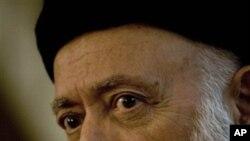 자살폭탄 공격으로 사망한 부르하누딘 라바니 아프간 전 대통령 (자료사진)