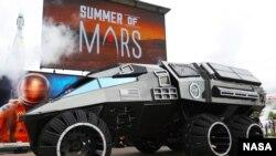 NASA telah mengungkapkan konsep kendaran jelajah planet Mars, bagian yang akan digunakan pada penjelajahan planet Mars tahun 2020.