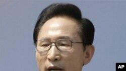 국정연설하는 이명박 한국 대통령 (자료사진)