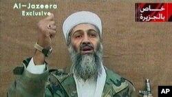 2004年一段錄像中出現的本拉登