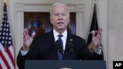 Joe Biden fala sobre o cessar-fogo