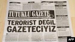 """Türkiye'de 10 Ocak'ta """"Tutuklu Gazete"""" ile Kutlama"""