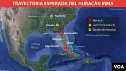 Hasashen Irma A Yau Juma'a