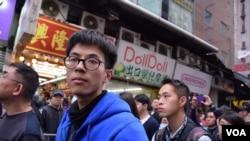 本土民主前線召集人黃台仰 (美國之音 湯惠芸拍攝)