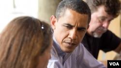 Barack Obama comenzó a enfocarse en las necesidades de las familias militares durante su campaña presidencial en 2008.