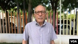 The political analyst Bosco Matamoros