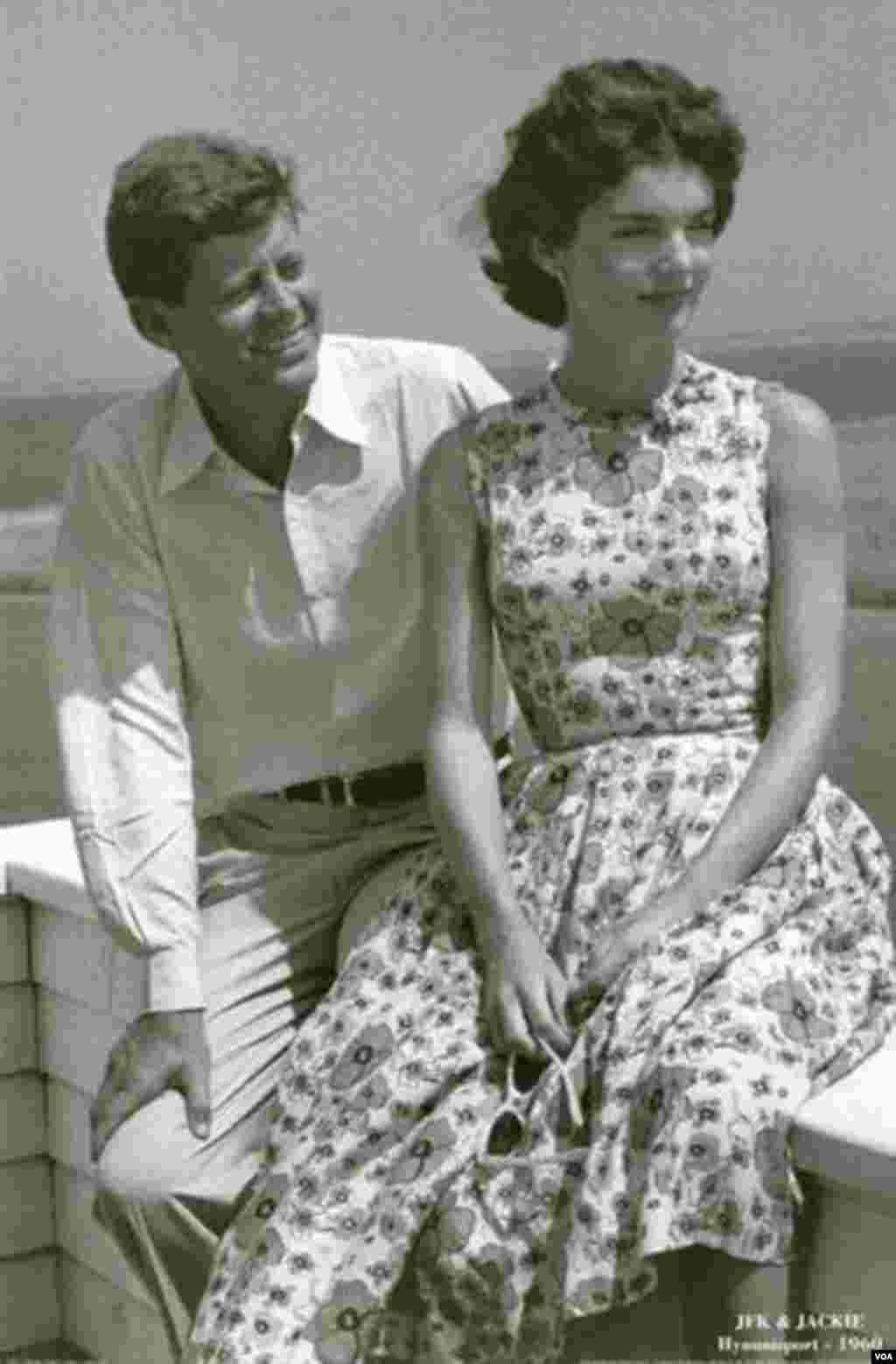 Jackie and John Kennedy