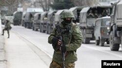 Konvoj ruskih vojnih vozila