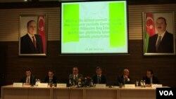 Baş prokuror yanında Korrupsiyaya qarşı Mübarizə Baş İdarəsində mətbuat konfransı