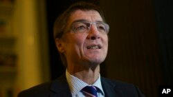 FILE - German lawmaker Andreas Schockenhoff is seen in a Nov. 14, 2012, photo.