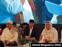 Agus Harimurti Yudhoyono saat menghadiri Haul Gus Dur (Foto: VOA/Ahmad Bhagaskoro)