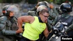 La Guardia Nacional ya suma cuatro bajas durante las protestas en Venezuela.