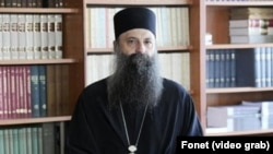 Novi patrijarh SPC Porfirije (foto Fonet)