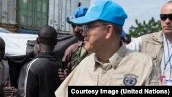 Ban Ki-moon, soucieux des sévices que subissent les civils au Soudan (Photo ONU)