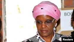 L'ex-Première dame du Zimbabwe Grace Mugabe, Harare, le 31 juillet 2013.