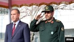 دیدار وزیران دفاع ایران و عراق در تهران
