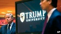 涉及当选总统唐纳德·川普的有关川普大学的集体诉讼将于11月28日开始