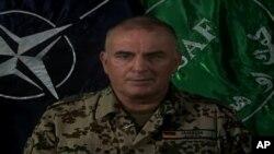 جنرال کرستین جکوبسن سخنگوی نیروی های ناتو در افغانستان