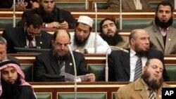 Новый египетский парламент.