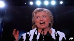 Hillary Clinton discursa na convenção democrata