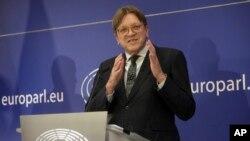 یورپی پارلیمنٹ کی طرف سے نامزد بریگزٹ کے لیے نمائندہ خصوصی اور بیلجئم کے سابق وزیرِاعظم گائے ورہوفسٹیڈ