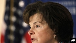 US Senator Dianne Feinstein (file photo)