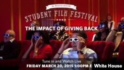 La Casa Blanca realizó un festival de cine joven.
