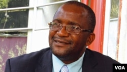 Movement for Democratic Change party spokesman Douglas Mwonzora (S. Mhofu)