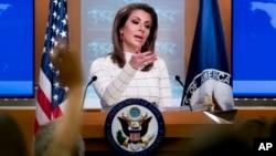 مورگان اورتگاس سخنگوی وزارت خارجه ایالات متحده