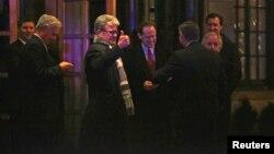 La cena de Obama con los senadores tuvo lugar en el Hotel Jefferson, a sólo unas cuadras de la Casa Blanca.