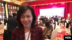 台灣經濟部投資業務處處長連玉蘋 (美國之音 湯惠芸)