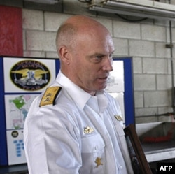 Swedish Navy Chief of Staff Rear Adm. Anders Grenstad