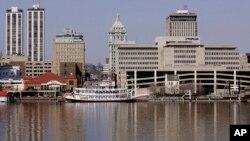 卡特彼勒公司位于伊利诺伊州皮奥里亚的办公大楼