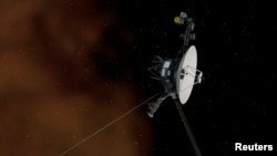 This undated artist's illustration depicts NASA's Voyager 1 spacecraft entering interstellar space, or the space between stars. (REUTERS/NASA/JPL-Caltech/Handout)