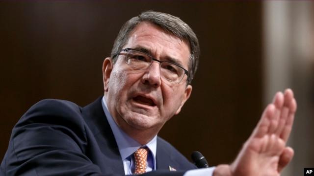 Bộ trưởng Quốc phòng Hoa Kỳ Ashton Carter.