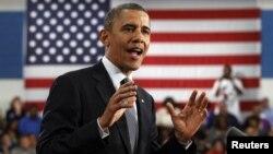 Barack Obama subrayó que todos los estados deben hacer de la educación una prioridad.