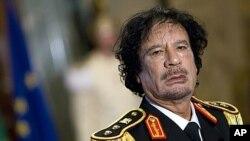 Mouammar Kadhafi (Italie, 2009)