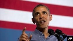 奥巴马谈论叙利亚问题