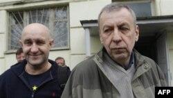 Дмитрий Бондаренко и Андрей Санников