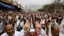 درگیری مخالفان و موافقان صالح در یمن
