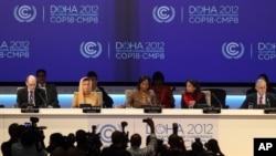 2012年在卡塔爾首都多哈舉行的全球氣候變化峰會