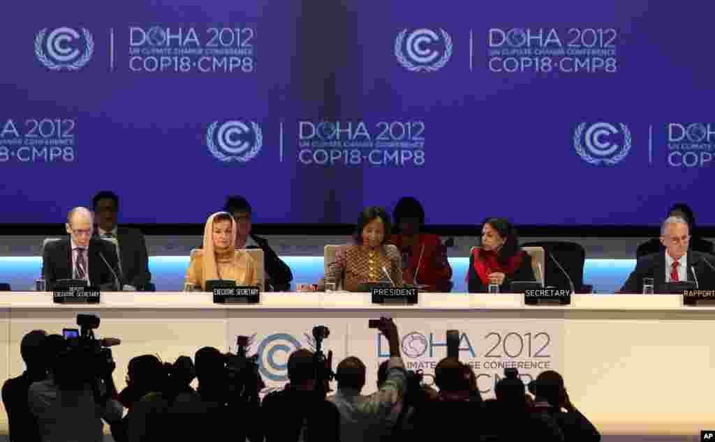 Mideast Qatar Climate Talks
