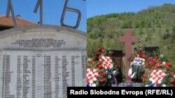 Spomenici u Ahmićima i Trusini