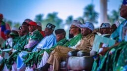 Taron kamfen din APC a jihar Ekiti gabanin zaben 2019 (Instagram/APC)