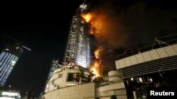 Пожежа готелю в Дубаї